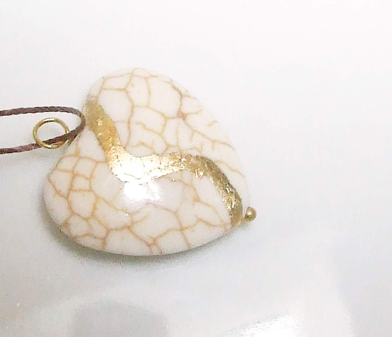 Hamrick Avenue Intention Jewelry Kintsugi Inspired Necklace I Am Whole Black Gold Layering Necklace
