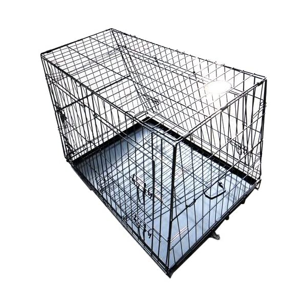 Hardcastle Folding Metal Car Boot Pet Dog Cage 2