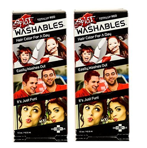 Splat Washables Totally Red 1.5oz (Set of