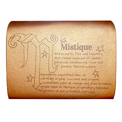 Waterfall Glen Soap Company Mistique - sandalwood and patchouli & spices, vegan bath soap with shea butter ()