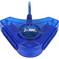 HDE PSX PS2 USB Dual Controller to PC Adapter Converter
