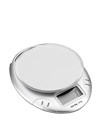 Lacor 61735 - Bascula cocina electrónica con cristal, 5 kg: Amazon.es: Hogar