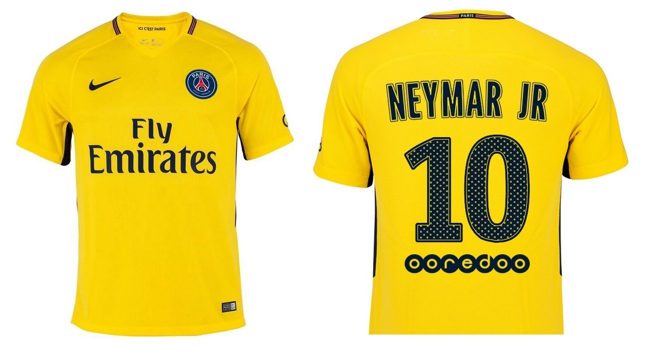 Trikot Kinder Paris Saint-Germain 2017-2018 Away - Neymar Jr 10