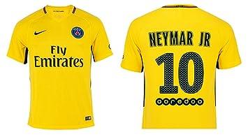 the best attitude 450bd 8bb21 Paris Saint Germain 2017/2018 Away Kit Neymar Jr 10: Amazon ...