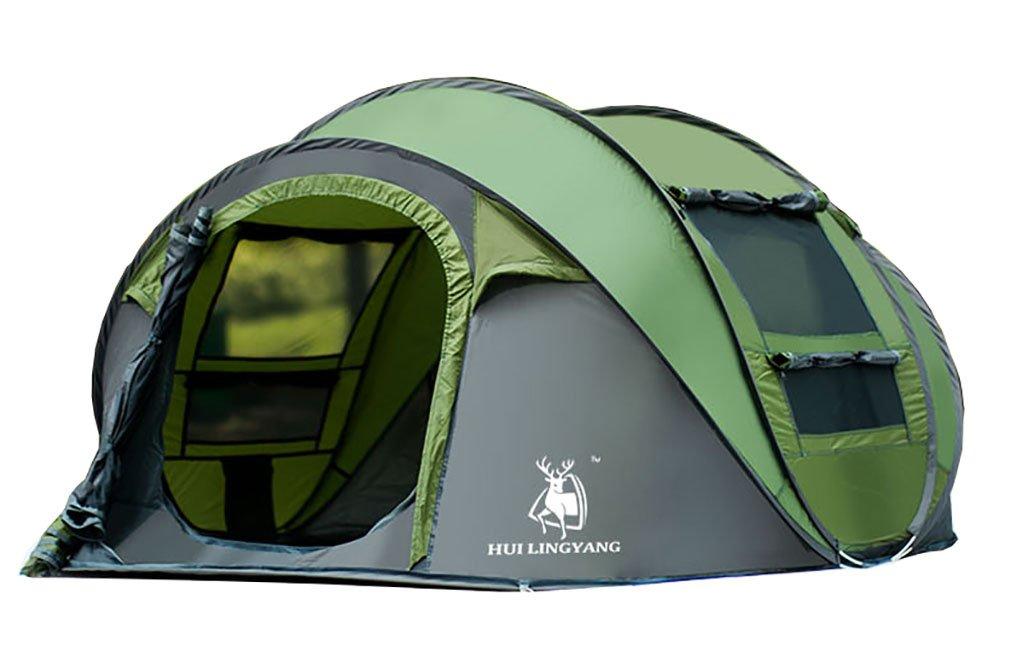 Ghlee Pop up Zelt für Camping 4-5 Personen Outdoor Automatische Set Instant Zelt Familie Werfen Pop up Zelt