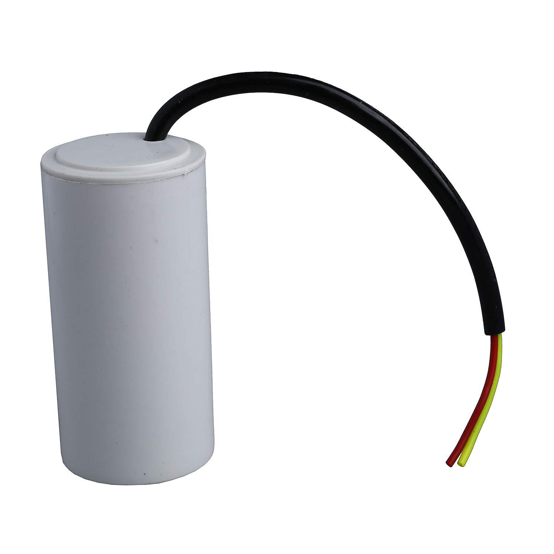 Iycorish CBB60 AC 450V 80uF Condensador de arranque del motor de pelicula de polipropileno