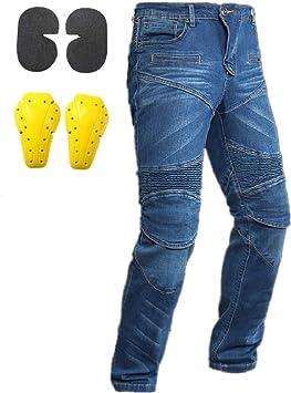 Uomo Pantaloni Moto Moto aramide CRUISER Pantaloni Biker Pantaloni Jeans Moto