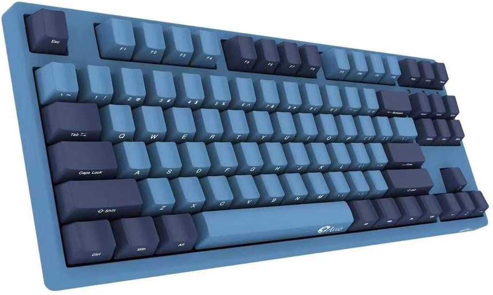 Amazon Com Yunzii Akko 3087 Mechanical Gaming Keyboard Cherry Mx Switch Pbt Keycap Cherry Mx Brown Ocean Star Computers Accessories