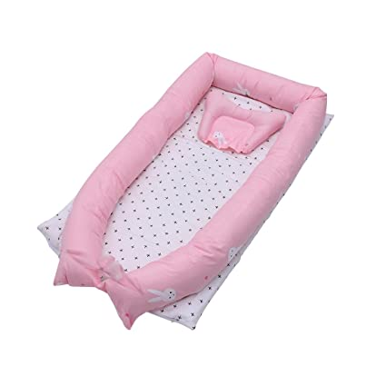 Amazon.com : FREAHAP R Baby Bed Baby Co-Sleeping Cribs ...