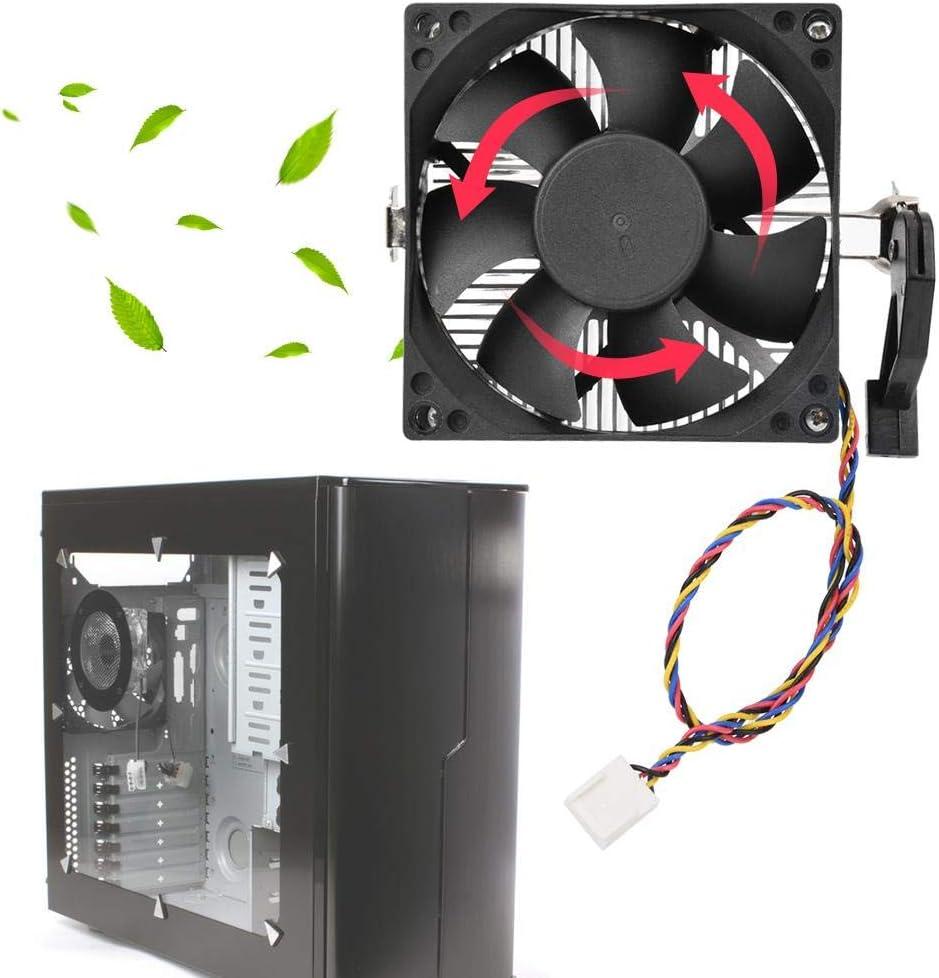 PWM Fan CPU Ventola di Raffreddamento 8025 Ventola Radiatore per AMD Standard ASHATA Ventola CPU 3Pin // 4Pin 2000 RPM Computer CPU Cooler Whisper-Quiet Dispositivo di Raffreddamento Processore