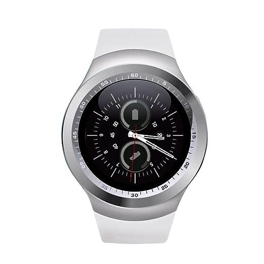 Yuntab Y1 SmartWatch Multi-idiomas Bluetooth reloj inteligente con cámara, TF / tarjeta SIM ranura Sleep monitor / podómetro / alarma / Fotografía ...