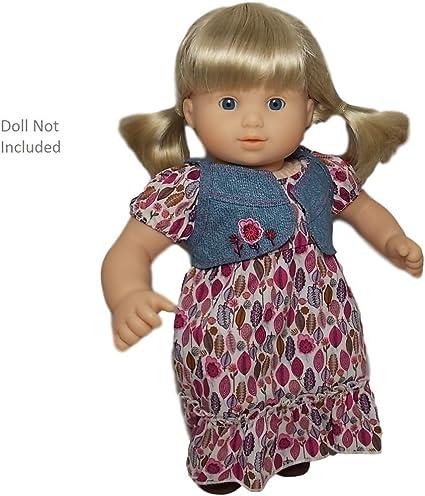 "American Girl Bitty Baby Doll Pink /& White Milk Bottle Pretend For 18/"" Doll"