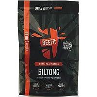 BEEFit Snacks 500g Chili Biltong, Hohes Protein, Gesund, Wenig Zucker, Nicht Beef Jerky