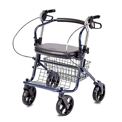 Walk Aid Andador Plegable De Acero Inoxidable, Andador con ...