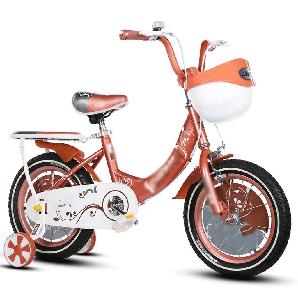 自転車 子供の自転車男性と女性2-3-6歳12/14/16/18インチ (サイズ さいず : 16 inch) B07DPPBQNK 16 inch 16 inch