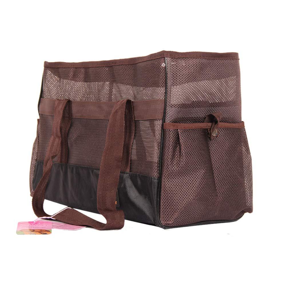C Large C Large CL- Pet Bag Dog Cat Out Of The Portable Hand Bag Pet Bag, Three colors Available, Two Pet bag (color   C, Size   L)