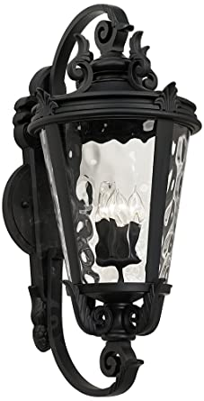 large outdoor wall lights rectangle casa marseille black 36quot high large outdoor wall light 36