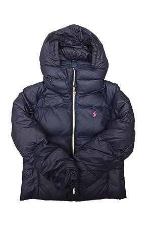 e1cf97941 Polo Ralph Lauren Girl s Cotton Puffer Winter Jacket (Medium   8-10)   Amazon.ca  Clothing   Accessories
