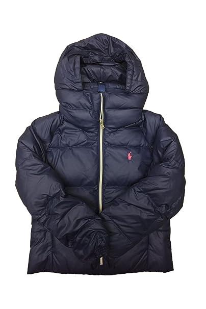 4f6a52a3 Polo Ralph Lauren Girl's Cotton Puffer Winter Jacket (Medium ...