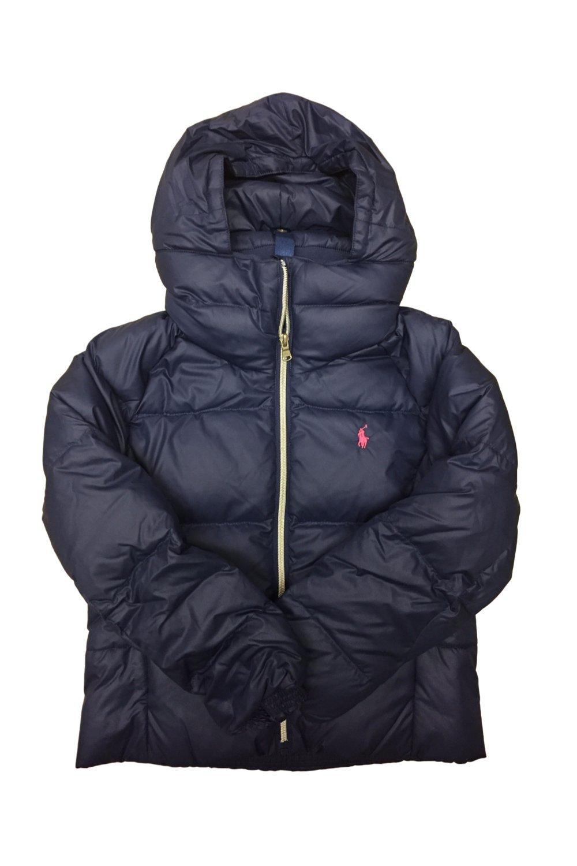 Girl's Polo Ralph Lauren Cotton Puffer Winter Jacket (Large / 10-12)