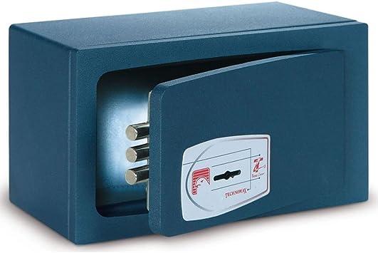 Technomax MBO - Caja fuerte (para apoyar o para empotrar, con llave): Amazon.es: Bricolaje y herramientas