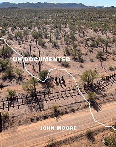 Book cover from Undocumented: Immigration and the Militarization of the United States-Mexico Border by John Moore