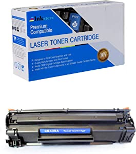Inksters Compatible Black Toner Cartridge Replacement for HP 35A (CB435A) - Compatible with Laserjet P1002 P1003 P1004 P1005 P1006 P1009