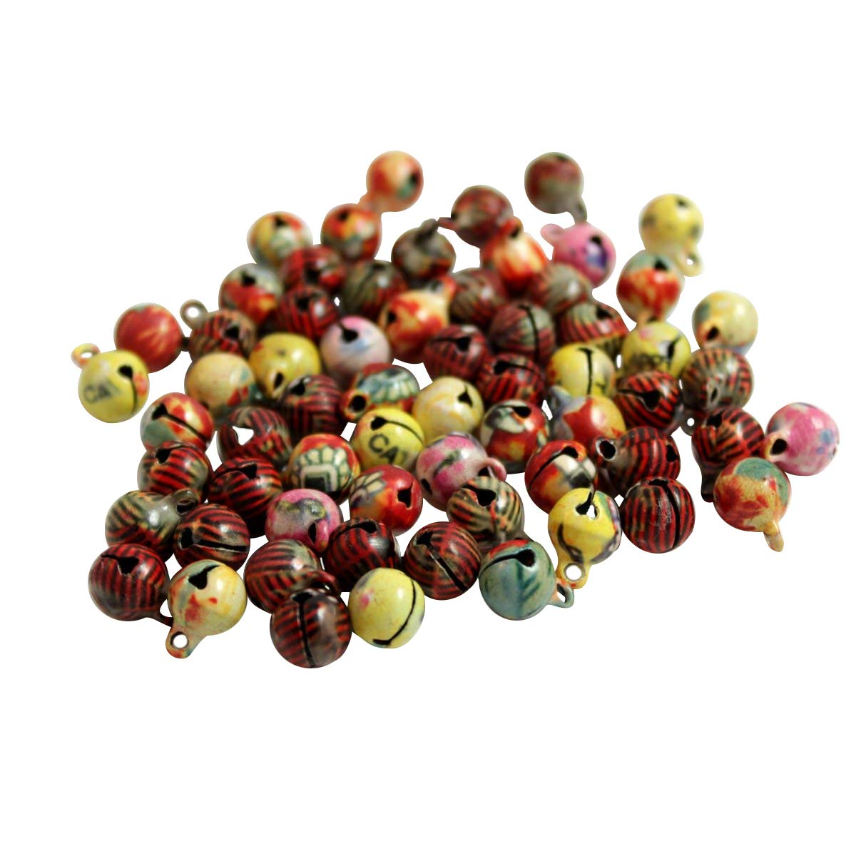 11 x 7 mm pink Kleenes TH Pack of 100 Small Copper Bells 11 x 7 mm