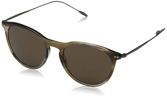 Armani GIORGIO 0AR8108 Gafas de sol, Striped Brown, 51 para ...