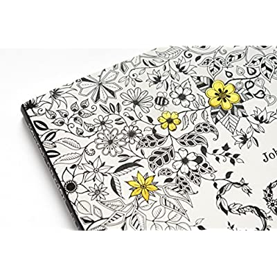 GOTICAL Secret Garden | Coloring Book for Adults | Treasure Hunt Coloring Book for Stress Dismissing Flower & Leaf Designs | Coloring for Adults - 96 Pages: Toys & Games