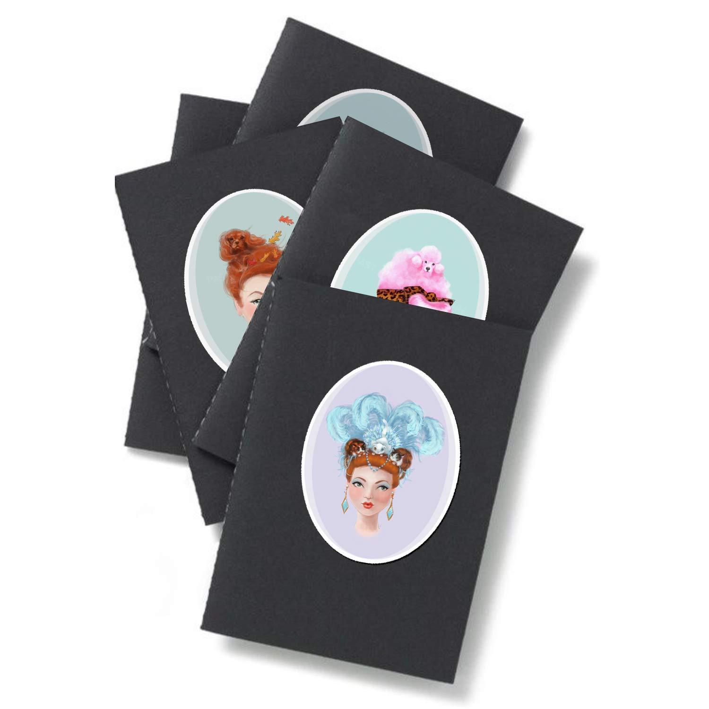 Pinup Girls Sticker NERIDA by Chickenrittle