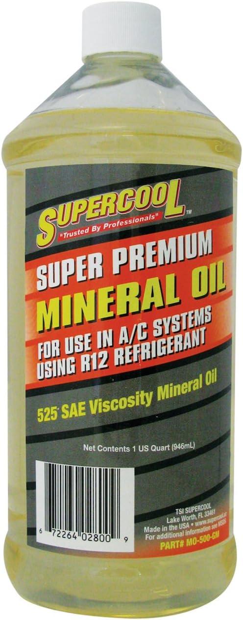 TSI Supercool MO-500-GM-32 Premium Mineral Oil - 32 oz