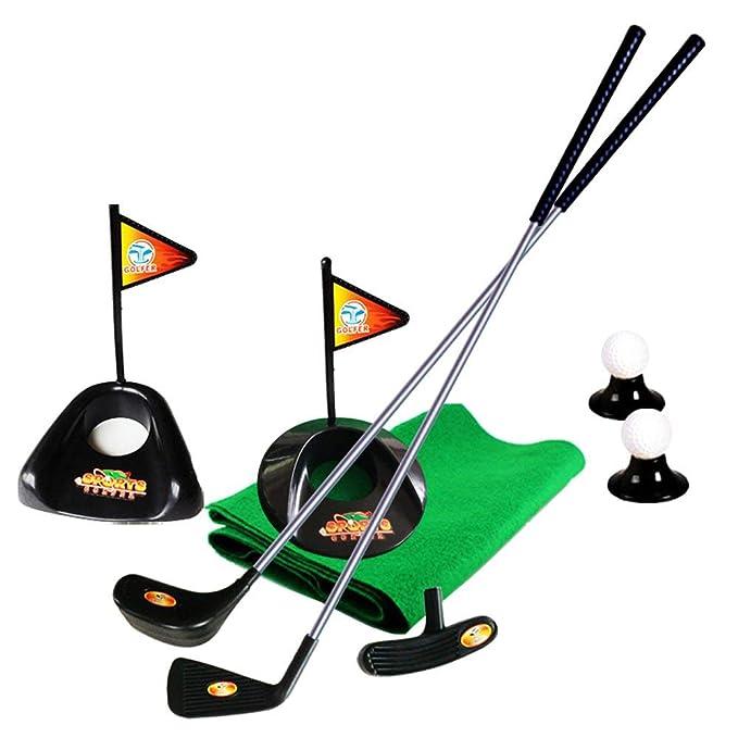 sowofa Set de Golf para niños Juego de Golf de práctica para ...