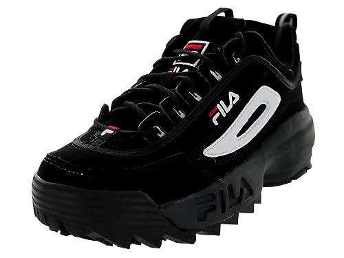 scarpe fila bambino nero