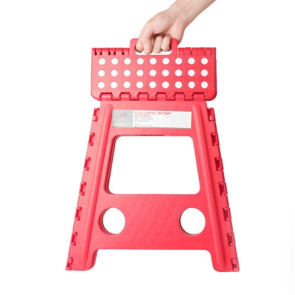 Acko 16 Inches Super Strong Folding Step Stool For Adults