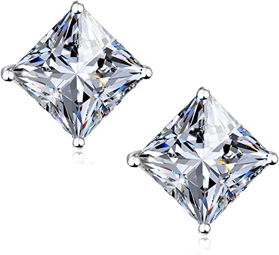 Gold Stainless Steel Diamond Ear Studs So Chic Jewels