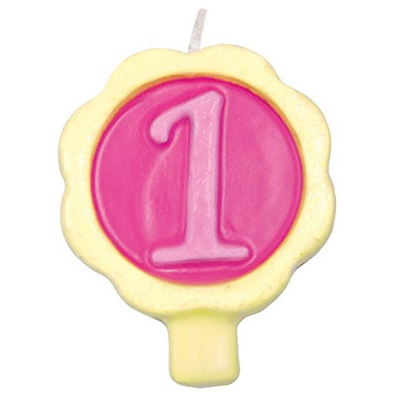 Design Design Dazzle-1 Birthday Candle Multicolor 757-04708