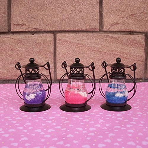Glass Jelly Candle Lights Candlestick Holder Stand Light Lantern Party Random Color Use It To Create A Romantic Atmosphere For Marriage Proposal