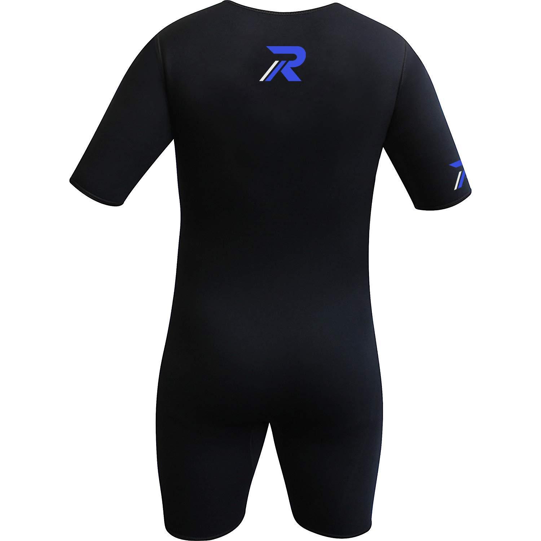 Roar Neoprene Suit Sweet Unisex (Black Blue, X-Large) by Roar (Image #3)