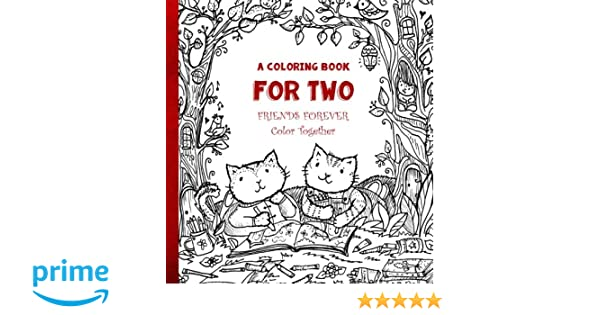 A Coloring Book For Two