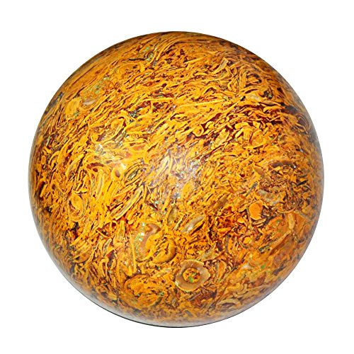 Satyamani Natural Mariam Gemstone Sphere (301gm-400gm) by Satyamani