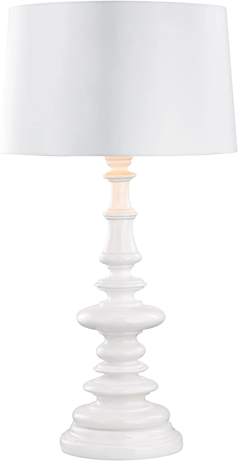 B01MRLOUOK Corsage Outdoor Table Lamp With White Shade 61MfDnmSsRL.SL1500_