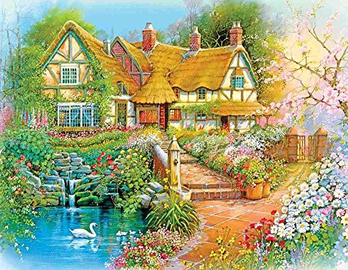 Springbok Country Cottage Jigsaw Puzzle (36-Piece)