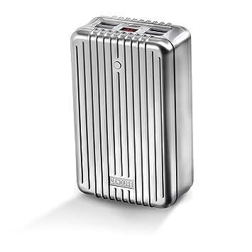 Zendure™ Cargador Portable A8 de 25600mAh – Cargador de baterías externo y power bank extremadamente duradero, compacto y ligero (Salida de 4 Puerto ...