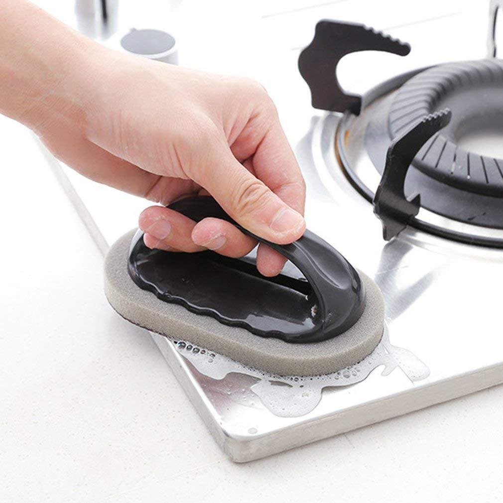 Ndier Cuisine Brosse de Nettoyage Magique /éponge m/élamine Lave-Vaisselle Pot Clean Brosse Produits pour Maison