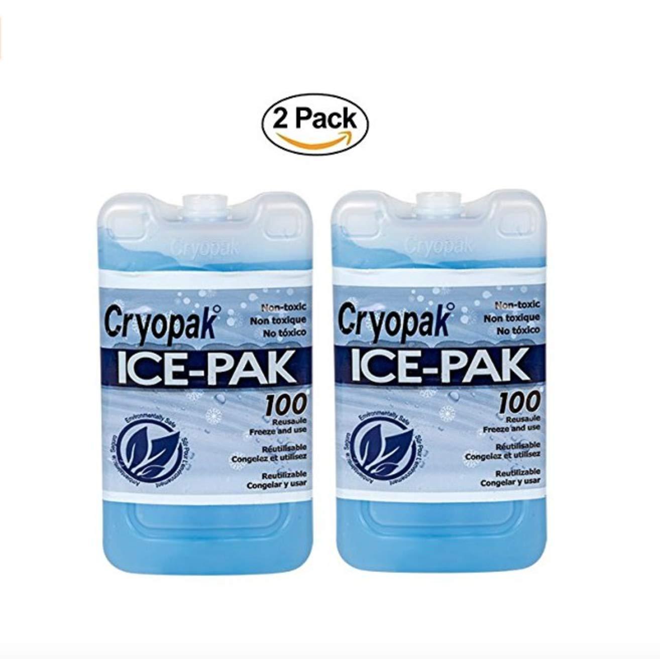 COLD ICEPAK 2 Paquetes de Hielo para congelador. Lonchera y Bolsa ...