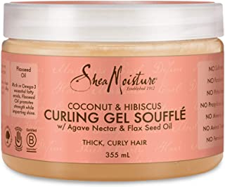 product image for Shea Moisture Coconut and Hibiscus Curling Gel Souffle, 355 ml