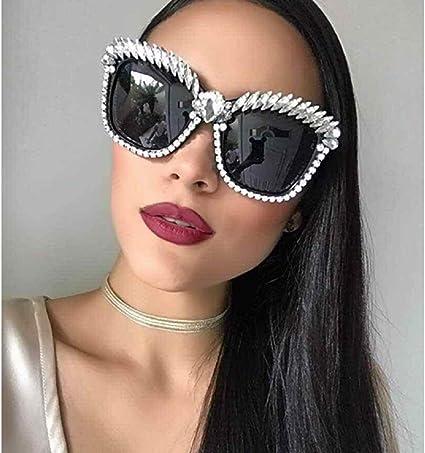 Round Womens Bling Rhinestone Sunglasses Designer Eyewear Design Female Fashion