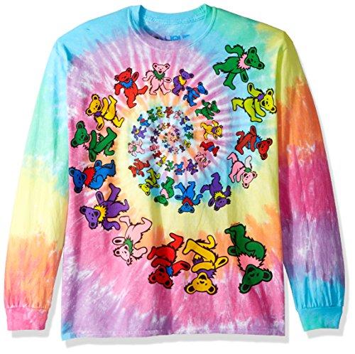 Grateful Dead-Spiral Bears Long Sleeve Longsleeve Shirt Size L
