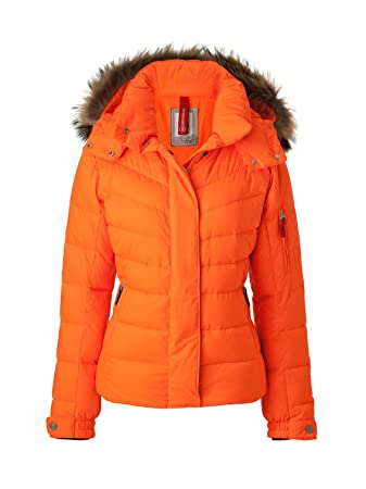 outlet store c79d1 fb4ca Bogner Fire + Ice Damen Jacke Sale-D, neon orange, 34, 3473 ...